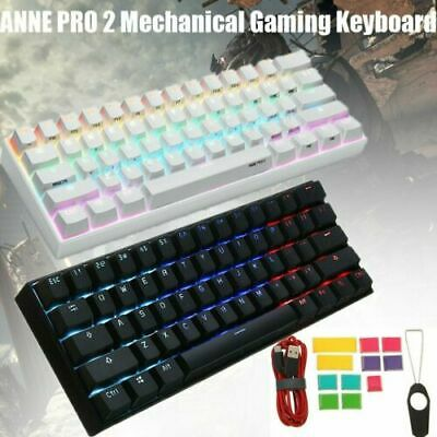 ANNE PRO 2 Gateron Switch Bluetooth USB RGB Mechanical Gaming Keyboard 61 Keys • 72.86£