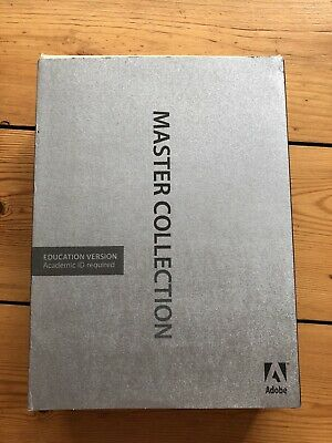 Adobe Creative Suite 4 Master Collection For Mac Education Version • 80£
