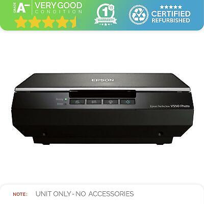 Epson Flatbed Document Scanner | Perfection V550 | NO FILM ACCESSORIES • 149.99£