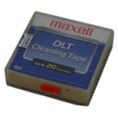 Maxell DLT 22897000 Cleaning Tape III - New & Warranty • 3.74£