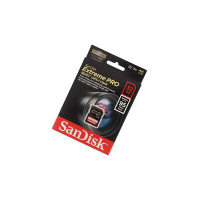 SDSDXXG-032G-GN4IN Memory Card Extreme Pro SD HC 32GB Read: 95MB/s Write: 90MB/s • 24.31£