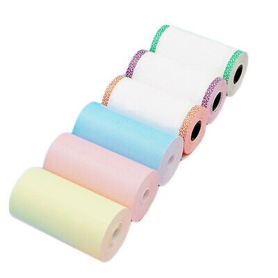 6 Rolls Thermal Paper Self-adhesive Sticker 57x30mm For PeriPage A6 Mini Printer • 5.89£