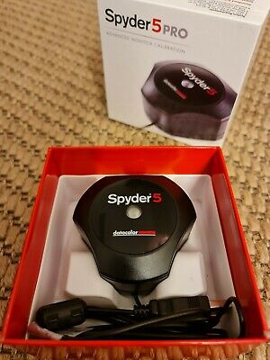 Datacolor Spyder 5 Pro Advanced Monitor Calibration - Boxed And Immaculate  • 66£