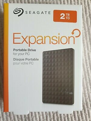 Seagate Expansion Portable 2 TB External Hard Drive HDD – USB 3.0 Brand New. • 54.94£