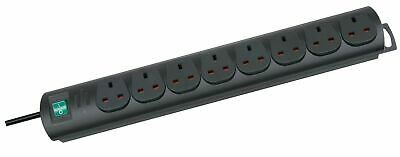 Brennenstuhl Primera-Line 8-way Extension Lead (Switch And 2 M Cable, Extensi... • 30.98£
