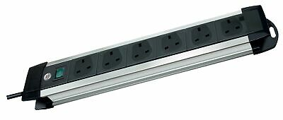 Brennenstuhl Premium-Alu-Line, 6-Way Extension Lead (Switch And 3 M Cable - 4... • 27.23£