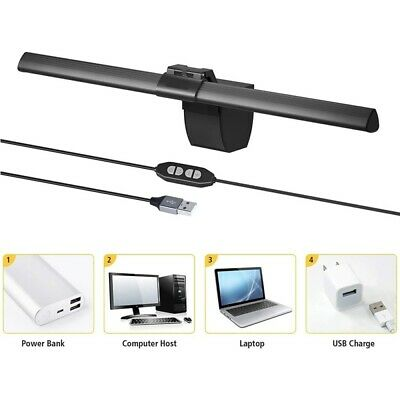 4W Dimmable 84 LED Screen Light Bar Hanging Light Eye Protection For Home Office • 23.42£