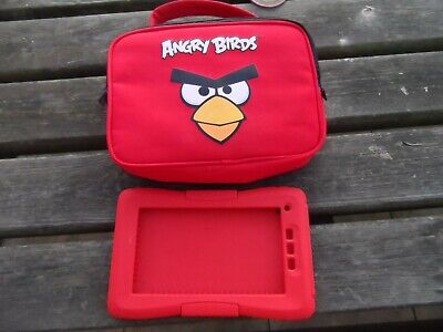 Angry Birds Kurio 7S 7  Tablet Travel Case And Protective Skin Bumper • 8.99£