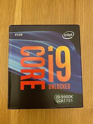 Intel Core I9 9900K 3.6GHz Octa Core LGA1151 CPU  • 50£