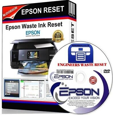 Epson Xp510,xp610,xp615,xp710,xp810,xp950 Waste Ink Pad Full/saturated Reset Cd • 3.95£