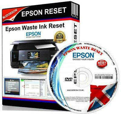 Epson  Printer Reset Service Waste Ink Pads Xp530 Xp630 xp635 xp830 Reset Patch • 3.95£
