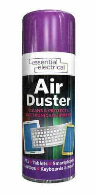 200ml Compressed Air Duster Compressed Dust Blower Laptop PC Keyboard Mobile UK • 4.25£