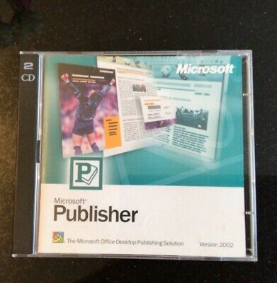 Microsoft Publisher Vers 2002, With Licence Key • 18.90£