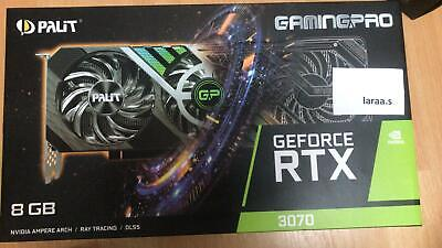 Palit GeForce RTX 3070 GAMING PRO 8GB GDDR6 - Fast Delivery • 700£