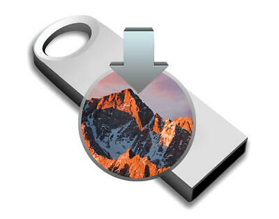 Mac OS SIERRA 10.12 USB Bootable System Recovery Kit • 9.99£