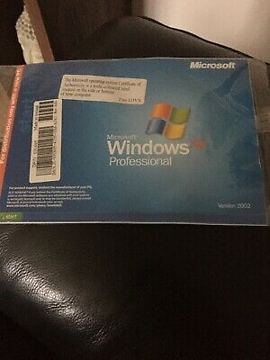 Microsoft Windows Xp Professional Disk And Booklet • 12.99£