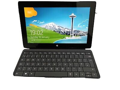 Microsoft Surface Pro Model 1514 4GB 64GB 10.6 Inch Tablet With Keyboard • 84£