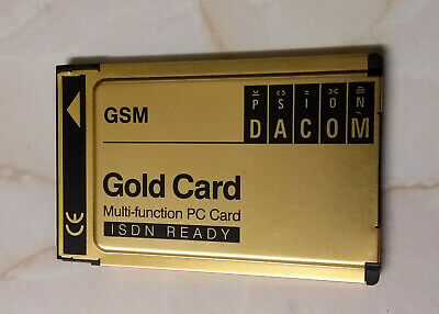 PSION Dacom GSM Gold Card - Multi-function PCMCIA • 4.99£