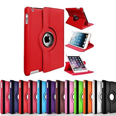 360 Rotating Case For Apple IPad 2 3 4 9.7  2019 2020 10.2  Leather Stand Cover • 4.50£