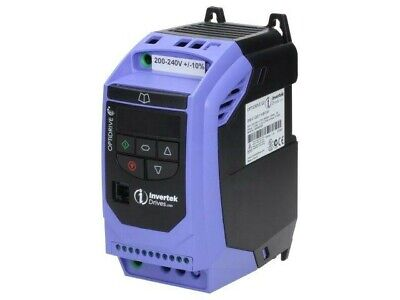 ODE-2-12037-1KB12-01 Inverter Max Motor Power: 0.37kW Usup: 200-240VAC 0-120Hz I • 298.06£