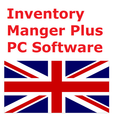 Inventory Plus Management  PC Software - Stock, Invoice, Barcode, UK • 33.99£