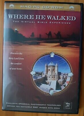 Mac Pc Cd Rom The Virtual Bible Experience Discover Holy Land The Life Of Christ • 9£