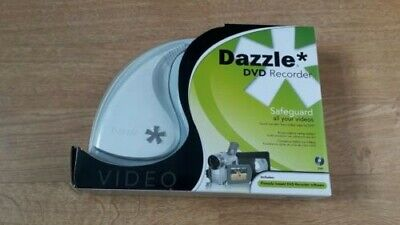 Dazzle DVD Recorder Save Your Videos Onto DVD From Video Recorder Computer Etc • 3.99£