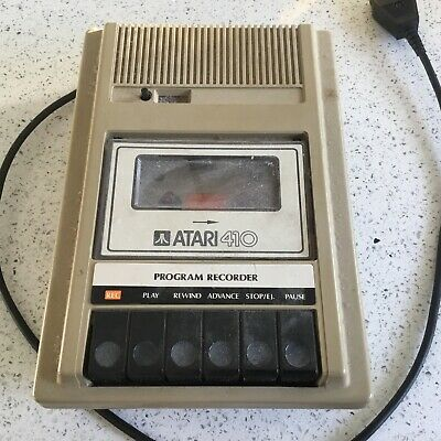 Atari 410 Program Recorder Not Known If Working With Lead  • 0.99£