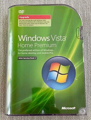 Microsoft Windows Vista Home Premium 32-bit Original Installation Kit Genuine • 2.24£
