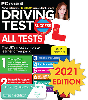 Driving Theory Test Success All Tests And Hazard Perception 2020 PC DVD-ROM • 6.05£