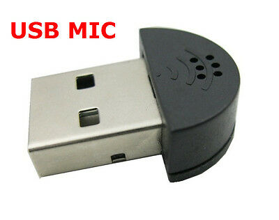 Nano USB Microphone Very Small USB Mic For Laptop Desktp PC Notebook Netbook • 4.99£
