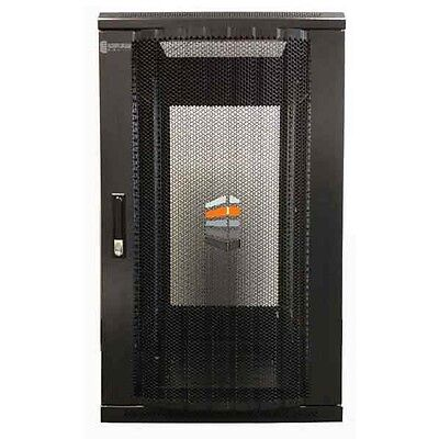 27U Server Rack 600 (W) X 600 (D) X 1400 (H) Glass Door Data Cabinet  • 325£