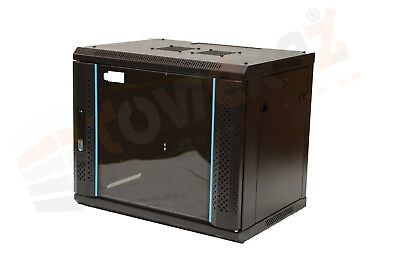 6U Data Wall Cabinet 600mm Deep TOWEREZ  36cm H - Server Rack Data FLAT PACK • 69£
