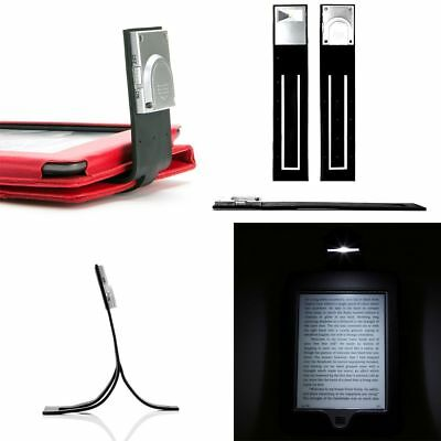 Ultra Slim LED Reading Flexible Clip On Light For Amazon Kindle (any Generation) • 4.72£