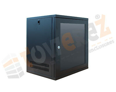 12U 19  550mm Deep (Black) (weight 19kg) 	  550x550x600 • 95£
