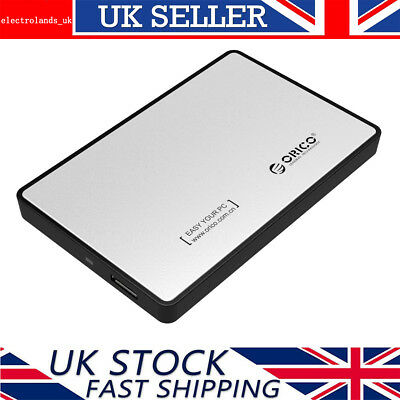 Orico 2.5 Inch USB 3.0 Hard Drive Enclosure Caddy Case For 2.5  SATA HDD/SSD -SV • 7.47£