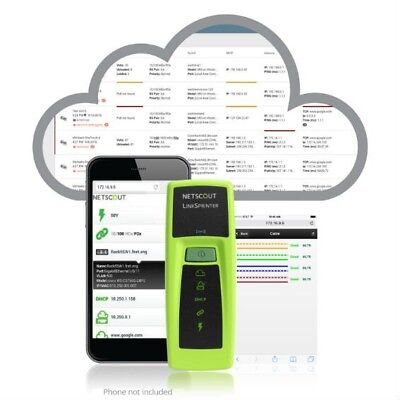 NetScout Networks LSPRNTR-300 Link Sprinter Network Tester-PoE Testing - Twisted • 425£