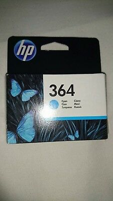 Genuine Hp 364 Ink Cartridges Cyan, Unopened Box.  Excellent Condition.  • 10£