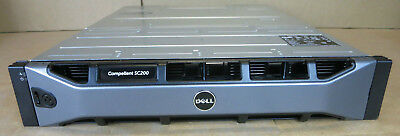 Dell Compellent SC200 Expansion Enclosure 12 X 3.5  HDD Bays 2x EMM 2x PSU • 440£