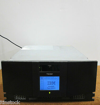 IBM 4560-SLX Backup Tape Library Enclosure With AD605A LTO2 Tape Drive 59P6689  • 360£