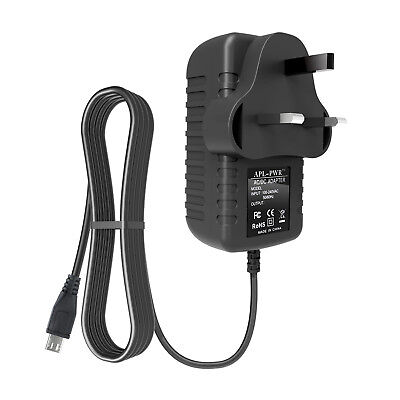 EXTRA LONG 2m AC Adapter Power Lead Charger For Tap Alexa PW3840KL • 7.29£
