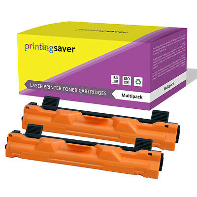 2 Toner Cartridge Fits Brother TN-1050 DCP1510 DCP-1512 HL-1110 HL-1112R MFC1810 • 10.79£