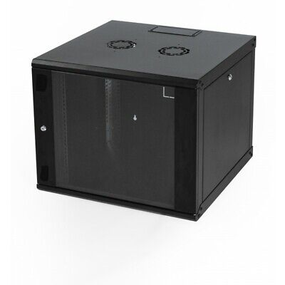 12U 550mm Deep Wall Mounted Data Cabinet Network Cabinet Comms Cabinets 19 Inch • 113.99£
