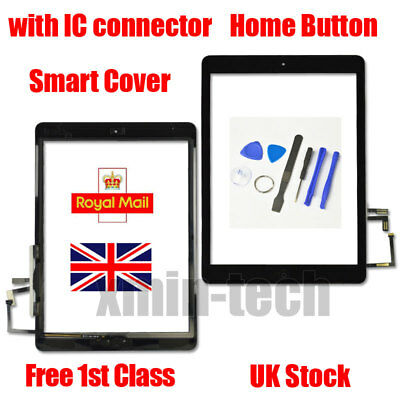Black For IPad 5 Air 1 A1474 A1475 A1476 Touch Screen Replacement Digitizer Tool • 9.92£