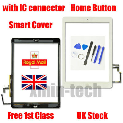 White For IPad 5 Air 1 A1474 A1475 A1476Touch Screen Replacement Digitizer Tool • 12.80£