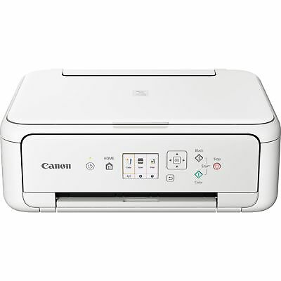 Canon PIXMA TS5151 WiFi Bluetooth 3-in-1 Home Inkjet Printer White 2228C028 • 59.99£