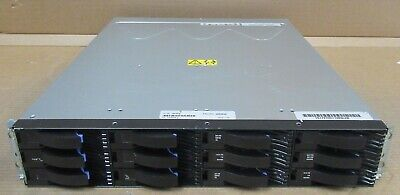 IBM EXP3000 Expansion Storage Array 12x SAS Bays 5x 1TB 2x CTRL & 2x PSU 39R6464 • 840£