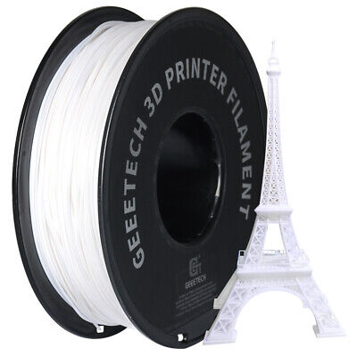Fast Ship!Geeetech 1kg 1.75mm White PLA Filament For 3D Printer From UK • 16.90£