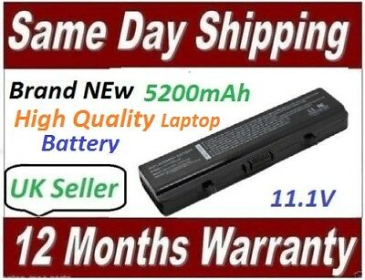 For DELL INSPIRON 1525 1545 1546 1750 BATTERY 6-CELL 5200mAh RN873 Replacement • 21.99£