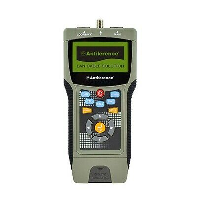 Antiference ATR269 Professional Cable Tester / LAN, TEL & COAX Cable Testing • 169.99£